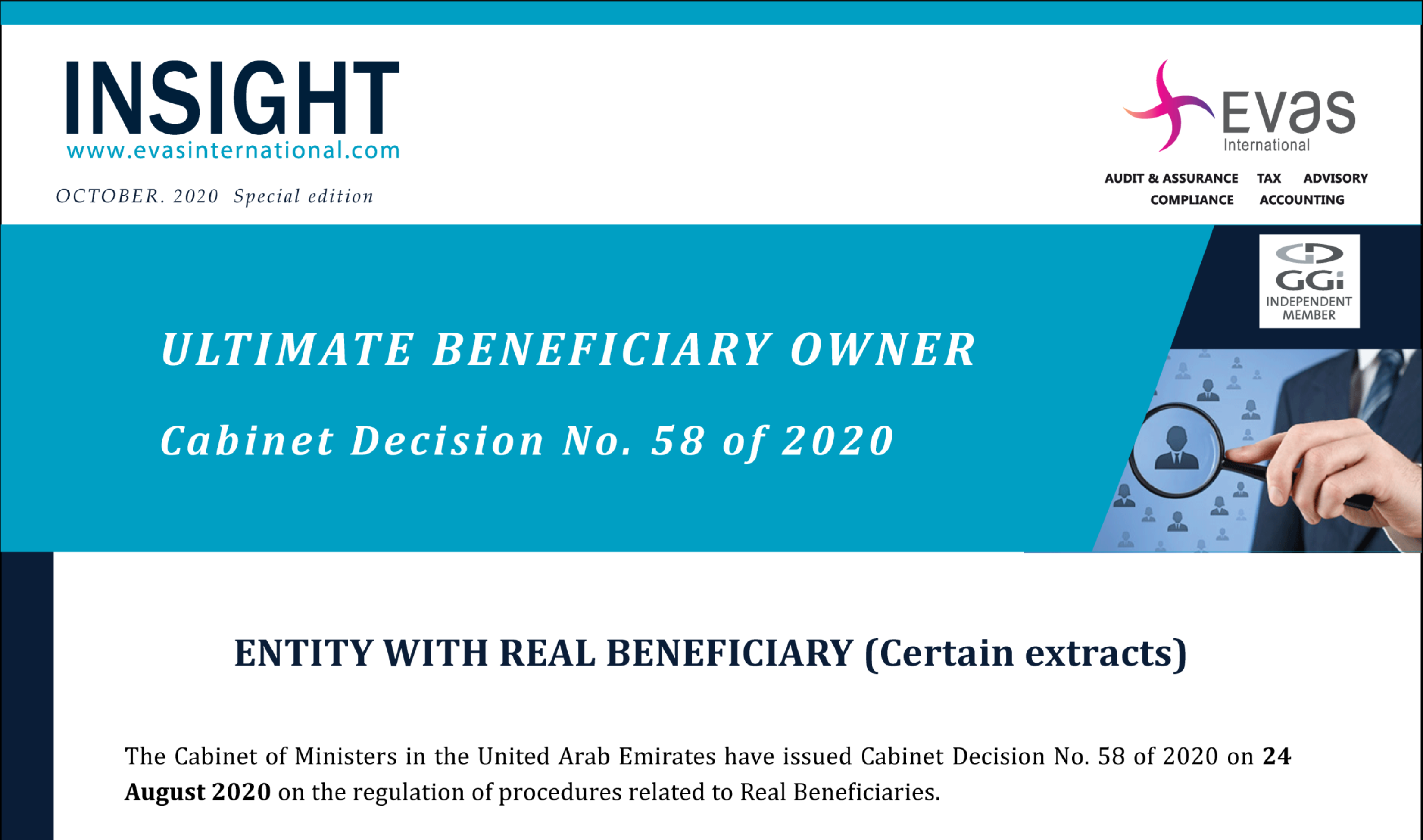 Ultimate Beneficiary Owner