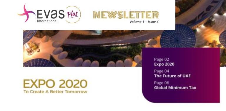 Evas International Newsletter – October 2021